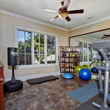 Fitness room / home gym