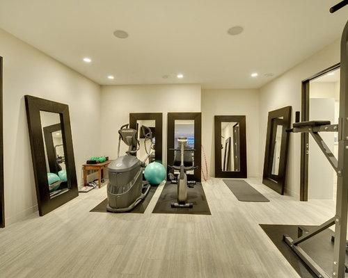 Lake minnetonka modern contemporary - Cool home gym decorating ideas ...
