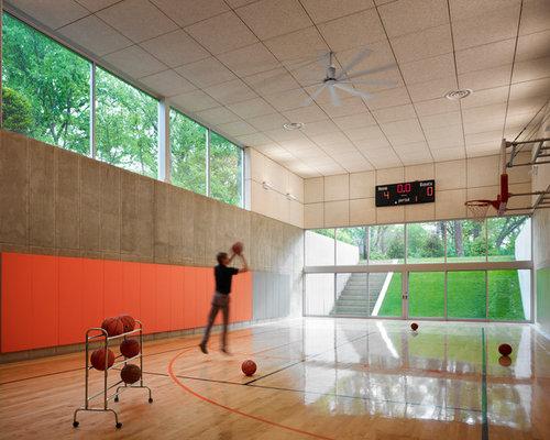 Indoor Basketball Court Design Ideas Remodel Pictures