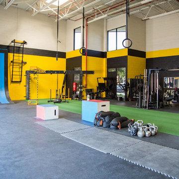 FlooringInc CrossFit Gym