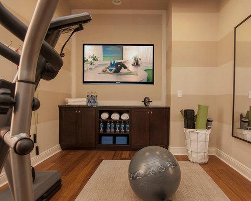 Home gym storage design ideas remodel pictures houzz
