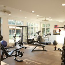 Traditional Home Gym by VanBrouck & Associates, Inc.