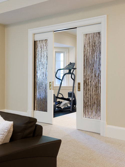 Modern Home Gym Design Ideas & Remodel Pictures