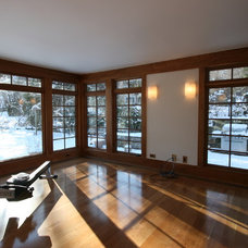 Contemporary Home Gym by G. Steuart Gray AIA