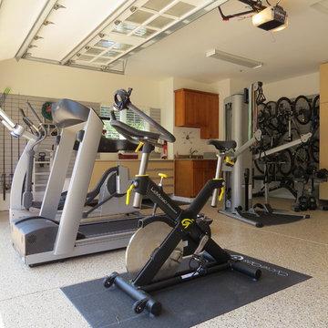 Garage Exercise Area