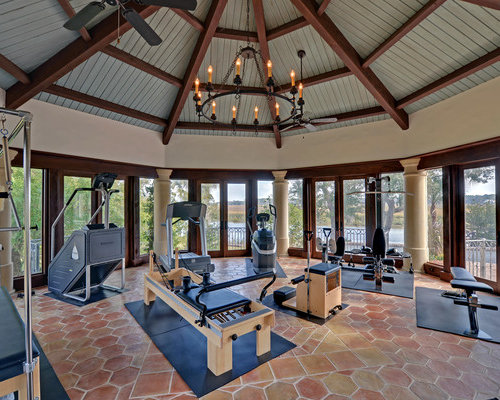 Exercise Room Home Design Ideas Pictures Remodel And Decor