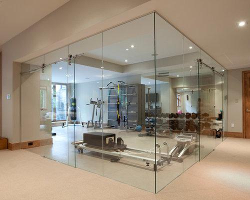 salle de sport photos et id es d co de salles de sport. Black Bedroom Furniture Sets. Home Design Ideas
