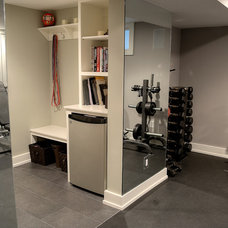 Traditional Home Gym by Showcase Kitchen & Bath