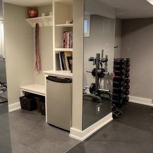 Klassischer Fitnessraum in Newark