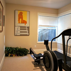 Traditional Home Gym Golden Park Avenue