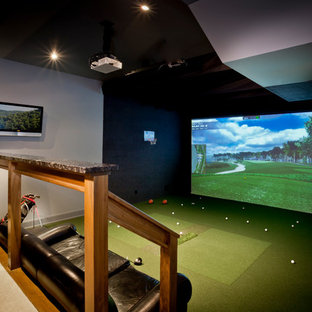 Golf Simulator for Petrucci Homes