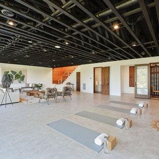 75 Home Yoga Studio Design Ideas - Stylish Home Yoga Studio ...