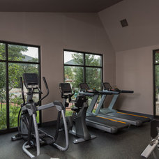 Traditional Home Gym by Greenbelt Construction