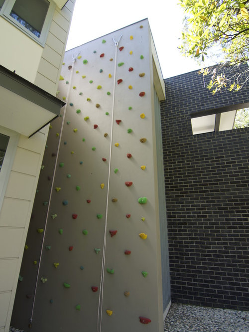 Best Contemporary Home Climbing Wall Design Ideas & Remodel