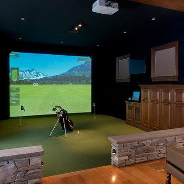 Gym & Golf Simulator