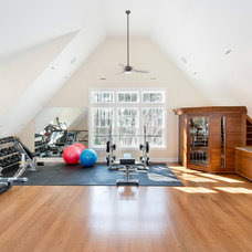Traditional Home Gym by Twin Peaks Construction, LLC
