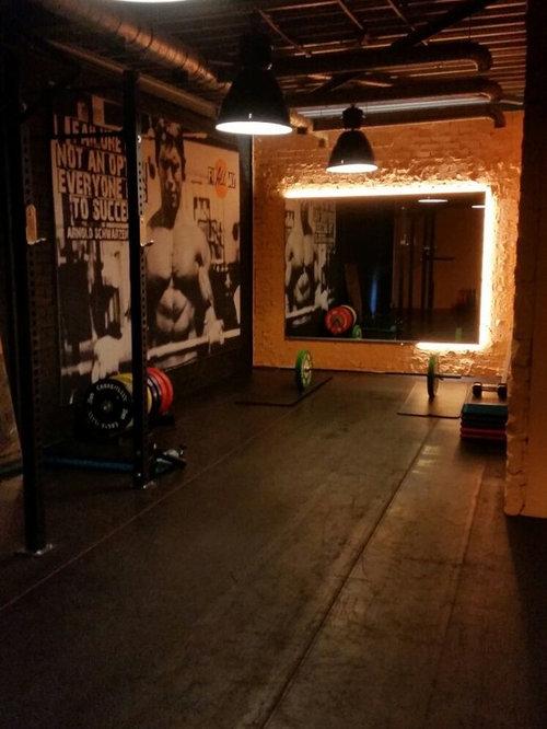 Industrial amsterdam home gym design ideas pictures for Industrial design amsterdam