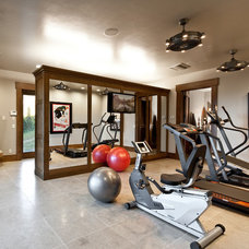 Traditional Home Gym by Jaffa Group Design Build