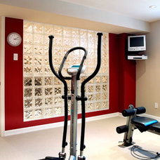 Contemporary Home Gym by Southam Design Inc