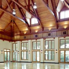 Traditional Home Gym by Cushing Custom Homes, Inc.