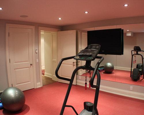 Toronto home gym design ideas renovations photos