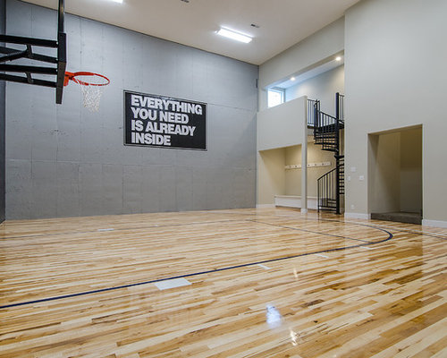 Houzz racquetball court design ideas remodel pictures for Build a racquetball court