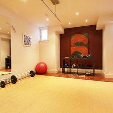 Modern Home Gym by Hall Developments