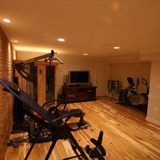 Traditional Home Gym by Matthew Bowe Design Build, LLC