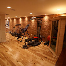 Traditional Home Gym by Matthew Bowe Design Build, LLC
