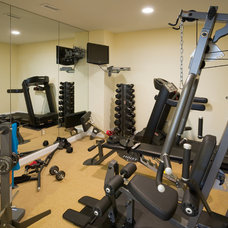 Traditional Home Gym by Carter Inc