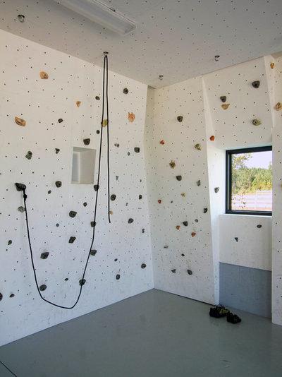 Sport fai da te in casa come costruire una parete d arrampicata indoor - Parete in legno fai da te ...