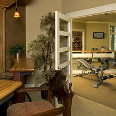 Contemporary Home Gym by Gelotte Hommas Architecture