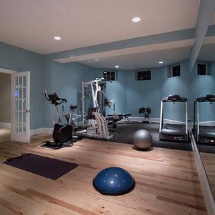 Moderner Fitnessraum in Washington, D.C.
