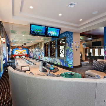 Home Bowling Alley of New York Yankees Player