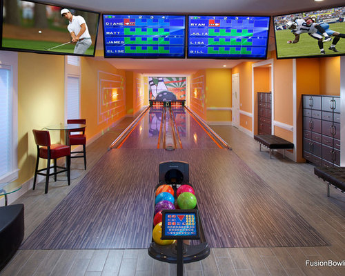 Basement Bowling Alley Home Design Ideas Pictures Remodel And Decor