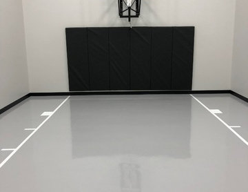 Home Gym and Basketball Court - Plymouth