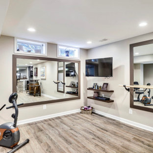 18 life changing modern home gym remodel ideas  houzz