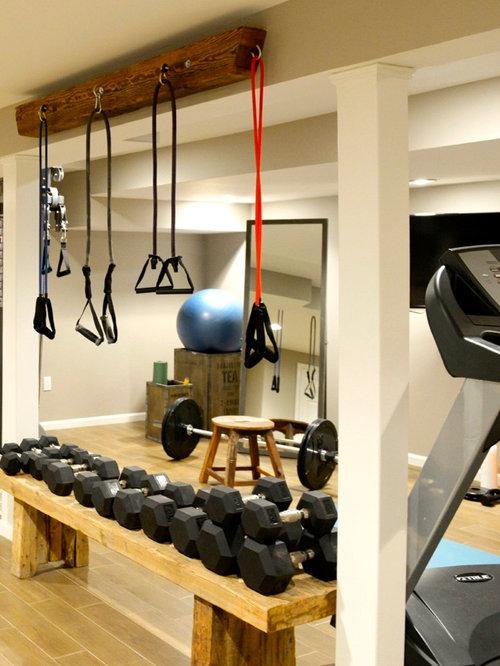 Industrial Other Home Gym Design Ideas, Pictures, Remodel