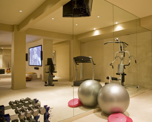 Fitness studio home design ideas pictures remodel and decor