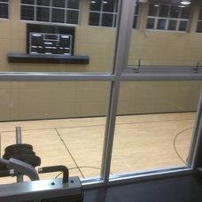Traditional Home Gym Home Gym