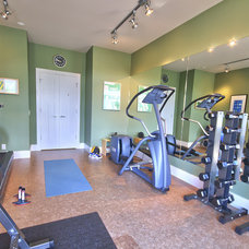 Traditional Home Gym by JayWest Country Homes Ltd.