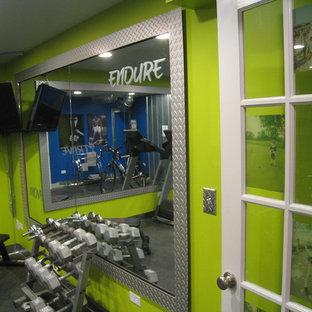 Moderner Fitnessraum in Chicago