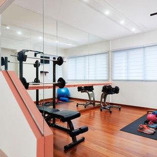 Nordischer Fitnessraum in Singapur