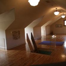 Contemporary Home Gym By James Witt Homes