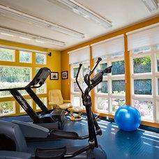 Contemporary Home Gym by Dennis Mayer, Photographer
