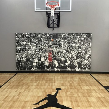 Indoor Basketball Court - Lakeville MN