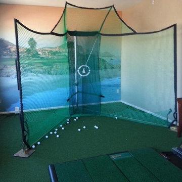 Indoor Golf Greens