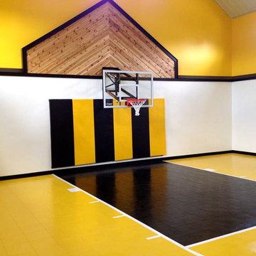 Indoor Home Sport Gym & Baskteball Court