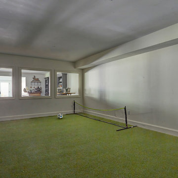Indoor Soccer Practice Area for the Grand Kids