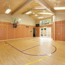 Contemporary Home Gym by V.I.Photography & Design